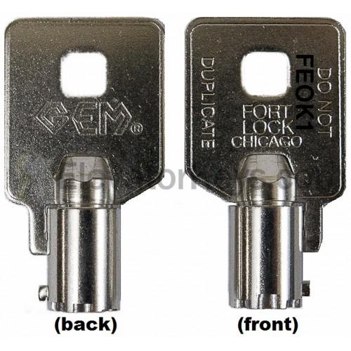 Elevatorkeys Com Feo K1 Universal Fire Service Key